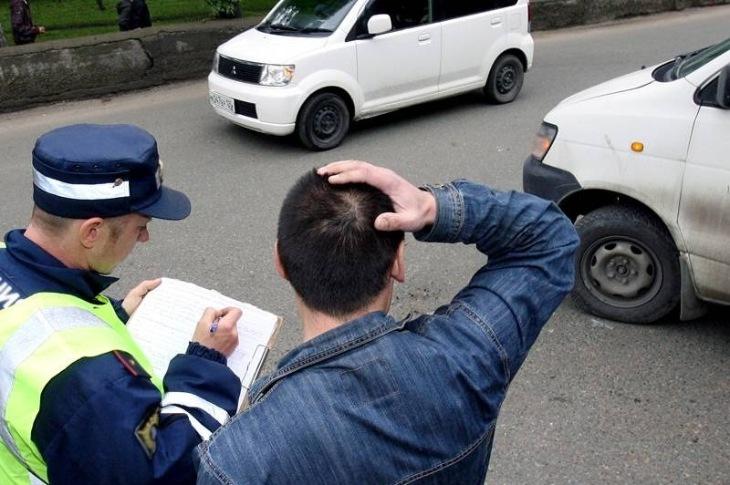 Наказание водителю за оставление места дтп