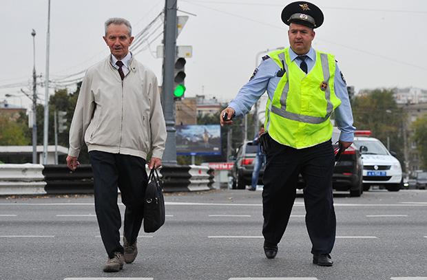 Штраф за переход дороги